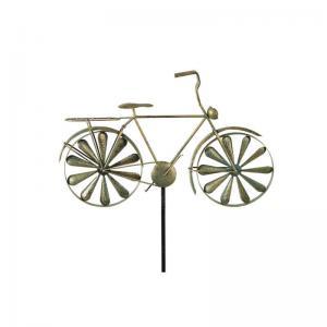 Trädgårdsstick Cykel metall 130cm