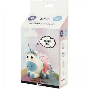 Funny Friends Unicorn Baby Blue