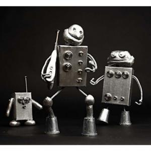 Robotdelar Plast Grå
