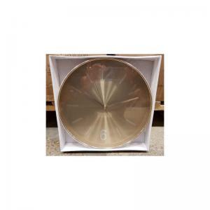 Väggklocka guld 30cm
