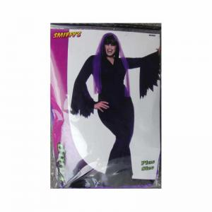 Vampyr dam klänning Lila Plus size