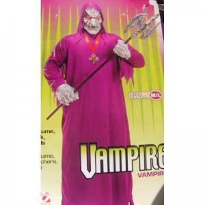 Vampyrdräkt och mask