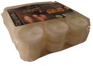 Värmeljus Miljövänlig återvunnen plast i koppen 18-pack