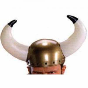 Vikingahjälm stora horn