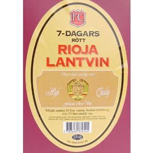Vinsats Rioja Lantvin (Rött).