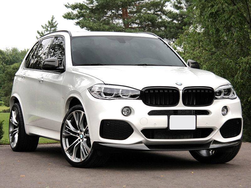BMW X5 X6F15 F16 svart dubbelribb grill njurar till bilen