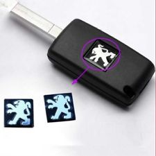 Peugeot emblem till bilnycklarna 2-pack nyckelemblem