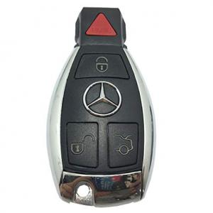 Mercedes fjärrnyckel larmdosa med 4 knappar