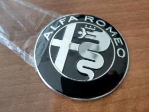 Alfa Romeo emblem till motorhuv bagagelucka