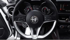 Alfa Romeo emblem till ratt 40 mm rattemblem