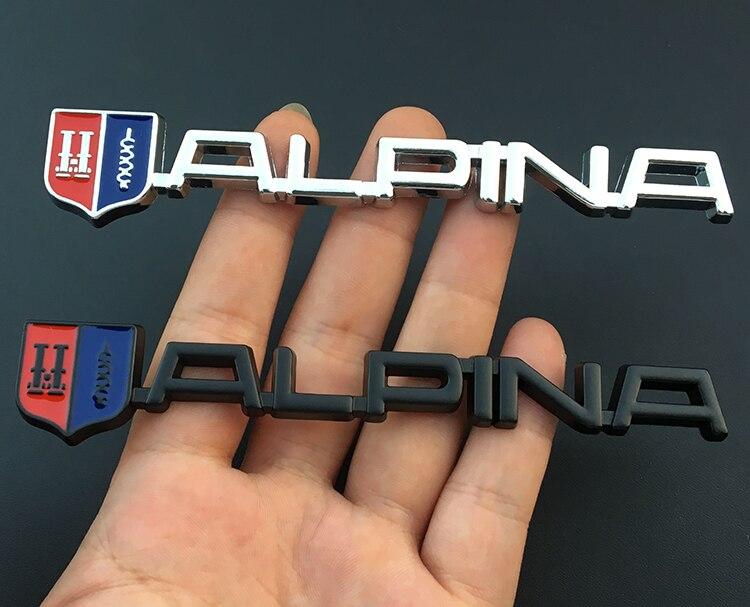 Alpina emblem märke till bagagelucka / skärmar