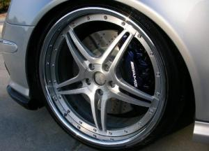 Mercedes AMG dekaler till bromsok / bromsar