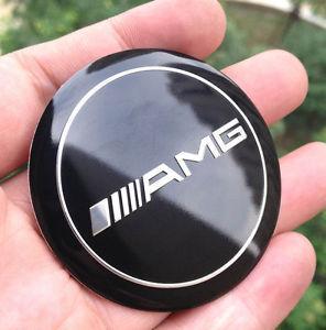 Mercedes AMG hjulnav emblem till fälg 4-pack
