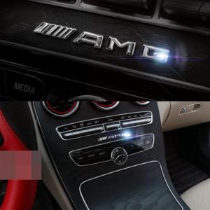 Mercedes Benz AMG interiör exteriör emblem 10cm