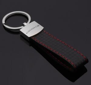Mercedes AMG nyckelring nyckelhänge i läder