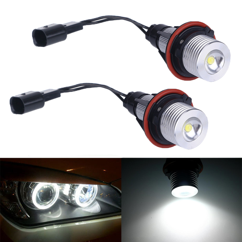 BMW E39, E60, E61, E63, E63 angel eyes LED vita 5W