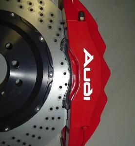Audi logo dekaler till bromsarna / bromsdekaler