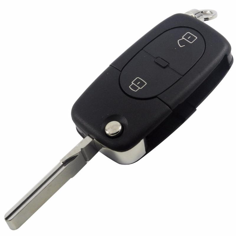 Audi nyckeldosa larmdosa bilnyckel med 2 knappar