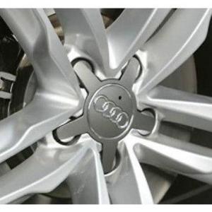 Audi täckkåpa / centrumkåpor, spindel till fälgarna 134 mm