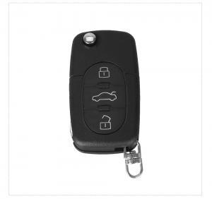 Audi nyckeldosa larmdosa bilnyckel med 3 knappar