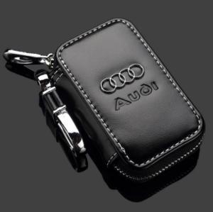 Audi nyckelfodral etui i läder till bilnyckeln