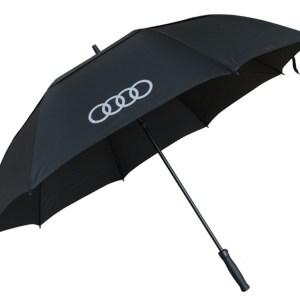 Audi logo liten paraply. Perfekt att ha i bilen