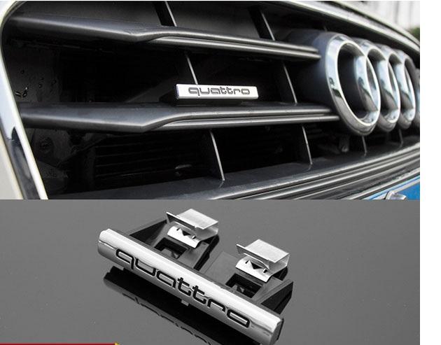 Audi Quattro emblem till grillen. Passar alla Audi