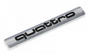 Audi quattro logo märke emblem till bilen