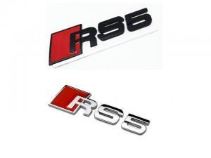 Audi RS5 emblem / märke till bilen. Passar alla Audi