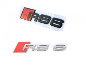 Audi RS6 logo emblem till bilens bagagelucka
