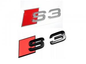 Audi S3 emblem, märke till bilen. Passar alla A3