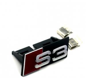 Audi S3 emblem till grillen, grillemblem