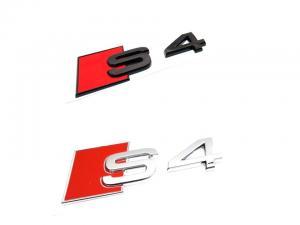Audi S4 logo emblem till bilen. Passar alla A4