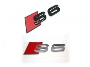 Audi S6 logo emblem till bilen. Passar alla A6