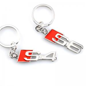 Audi S4 och S6 logo nyckelring nyckelhänge
