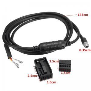 AUX ljudadapter kabel till BMW e60, e61, e90, e91