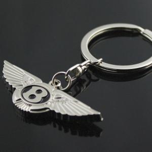 Bentley logo nyckelring nyckelhänge