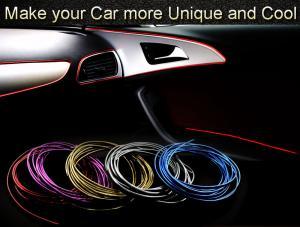 Interiör styling till bilen. Universala strip i flera färger