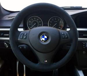 BMW E90, E91, E92, X1 E81 3 serie mocka till ratten