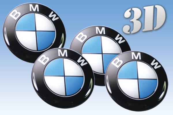 BMW stickers 3D emblem till bilen i original modell