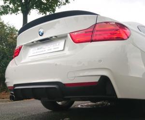 BMW F32 F33 4 Serie coupe cab enkel diffusor