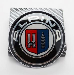 Alpina emblem märke till motorhuv bagagelucka