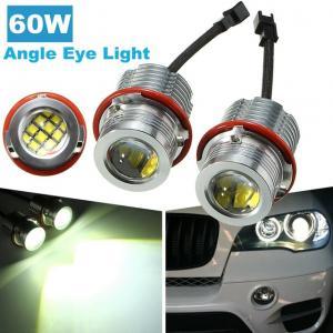 BMW E60 E61 E39 E87 starka Angel Eyes lampor 60W