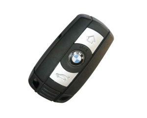 BMW larmdosa nyckelskal med 3 knappar för 3, 5, 6, 7 serie