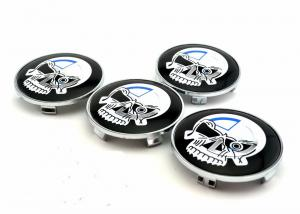 Punisher skulls centrumkåpor 68 mm för BMW 4-pack
