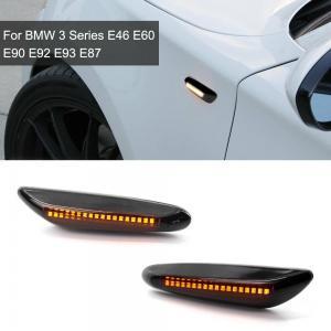 BMW E60 E61 E90 E91 E92 E93 X3 DRL LED blinkers i svart
