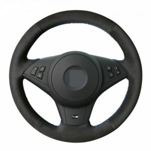 BMW E60 E61 E63 E64 rattöverdrag mocka till ratten