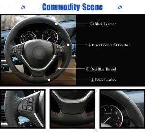 BMW rattskydd i läder till X5, X6 E70 E71