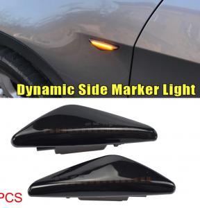 BMW X3, X5, X6 DRL LED blinkers i svart till bilen