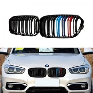 BMW E81 E87 M Performance grill med dubbelribb